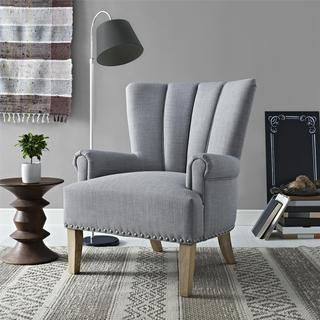 Design Your Living Room Online Free Mesmerizing Shop For Avenue Greene Milo Grey Accent Chairget Free Shipping Decorating Design