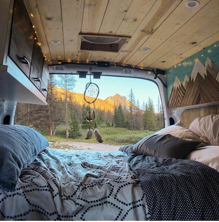 #vanlife #mountainlife. Must have wall art.