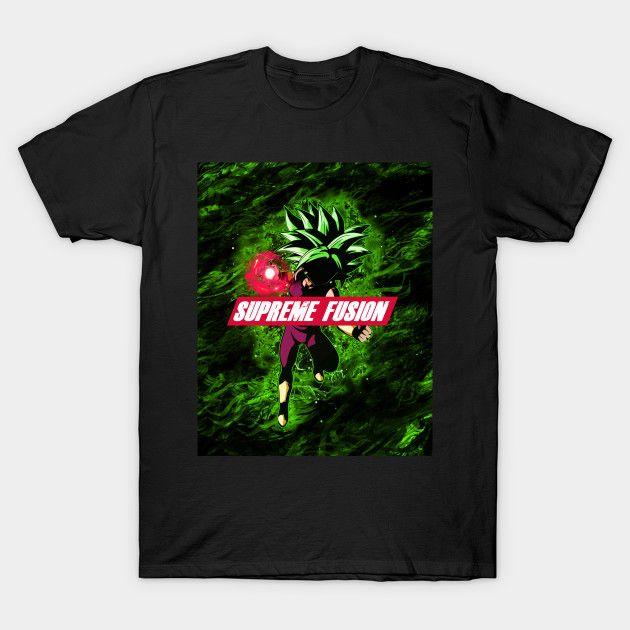 Supreme fusion DBZ t-shirt | Displate thumbnail