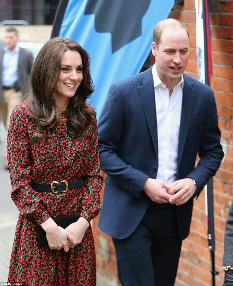 Catherine Duchess of Cambridge and William Duke of Cambridge at a charity Christmas party in London. December 19 2016