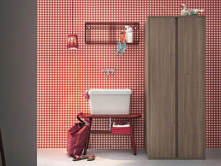Birex Mobili ~ Acqua e sapone sectional laundry room cabinet by birex design monica