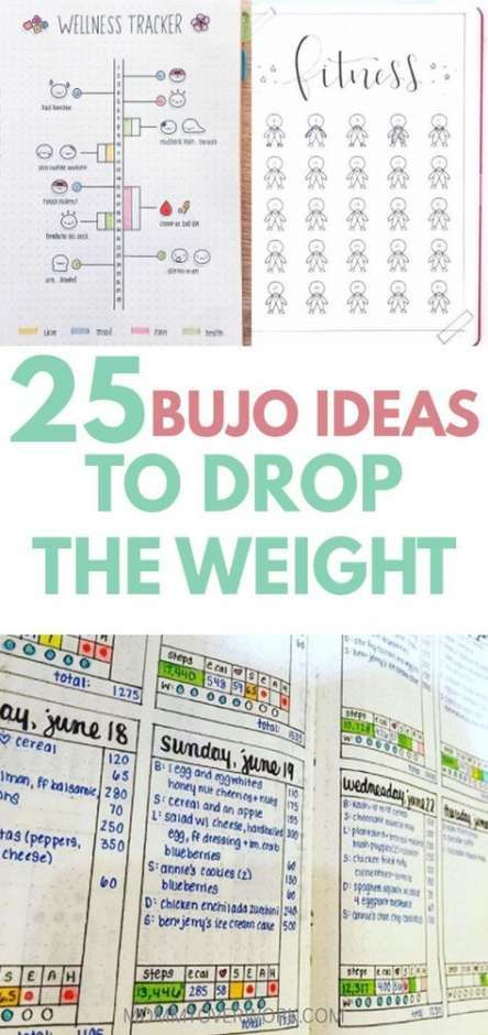 20 Ideas Fitness Journal Pages Weight Loss #fitness