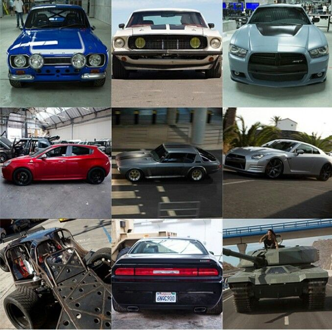 The Cars Of Fast And Furious 6!!!