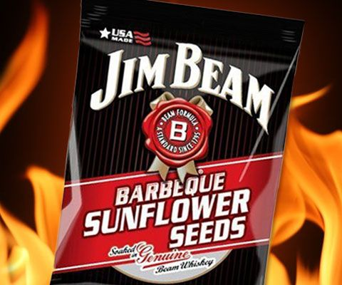 Satisfy your hunger without increasing your pants or dress size with the barbecue sunflower seeds. These delectable treats come with a mouth-watering barbecue flavor baked right in - it's the classic Jim Beam taste we all know and love.