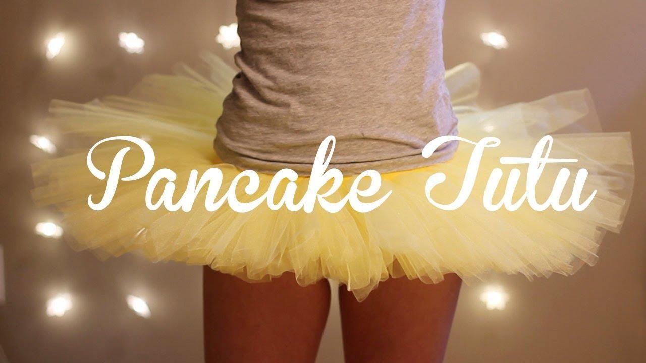 DIY Tutorial: DIY Ballerina Costume / DIY A Tutu Stiff (Pancake ...