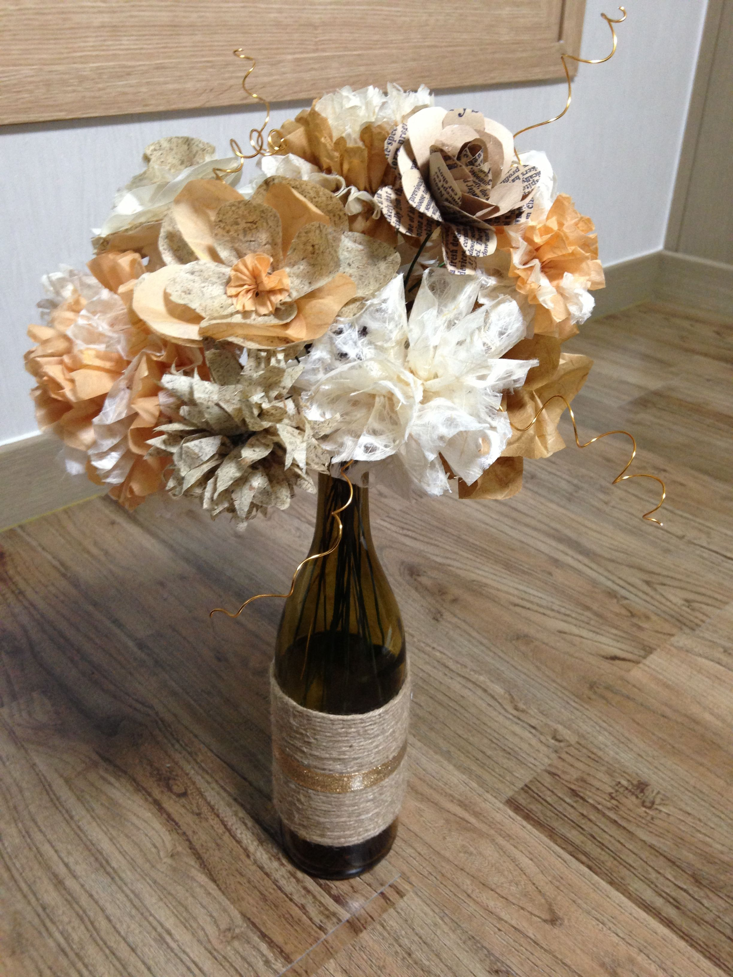 Paper flower bouquet creative diy ideas pinterest diy ideas