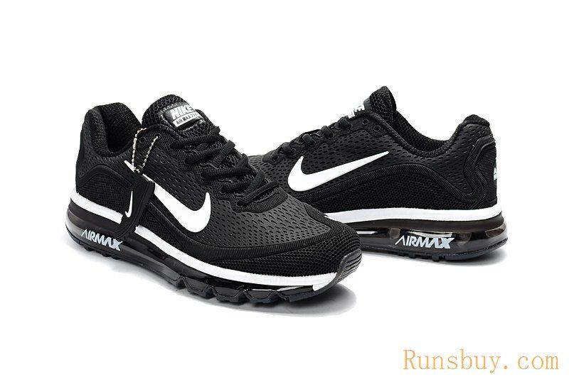 059d8d567073 New Coming Nike Air Max 2017 5Max KPU Black White Women Men