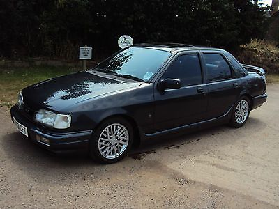 1991 H Ford Sierra Sapphire Rs Cosworth 4x4 Black With Black