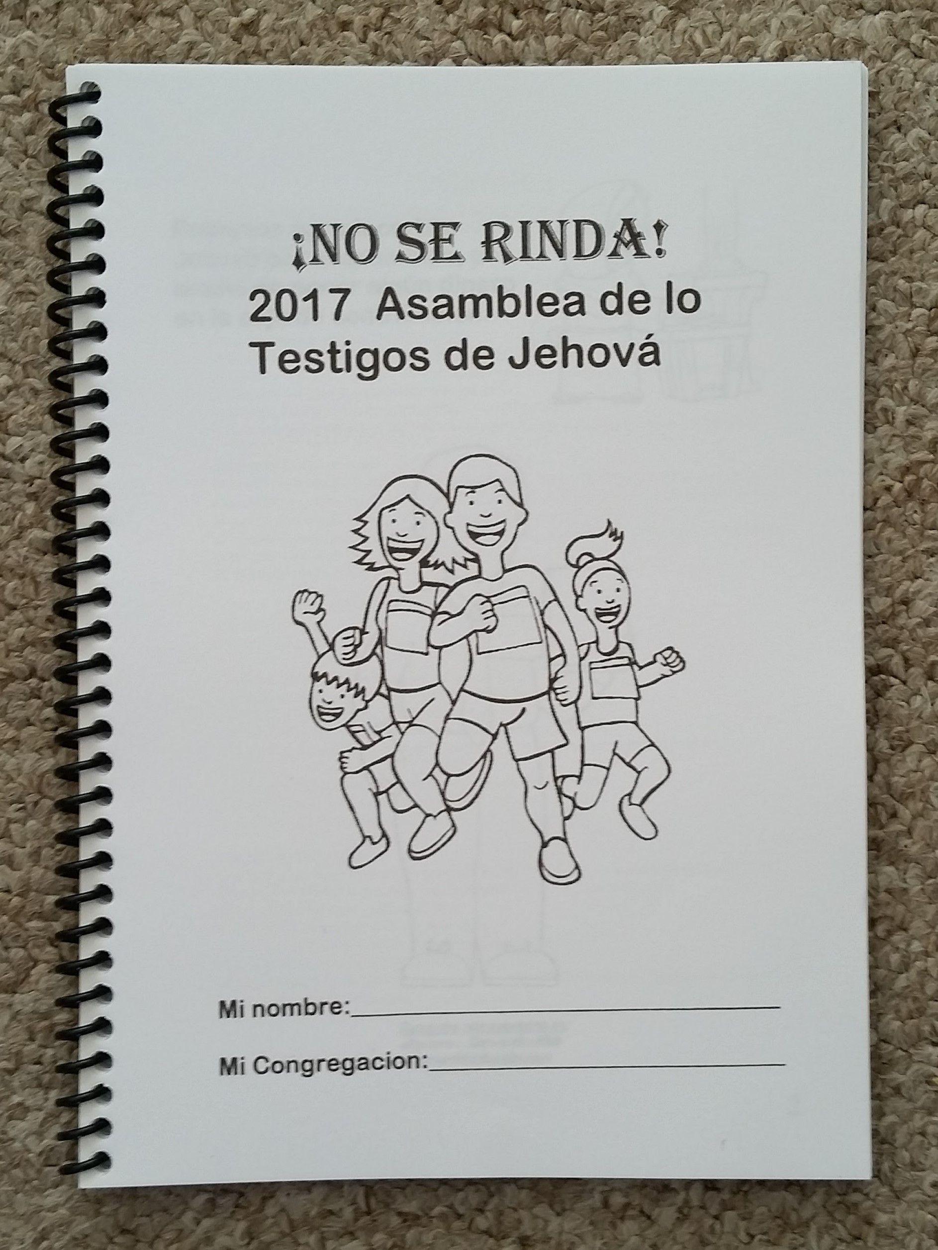 Spanish Jw Regional Convention No Se Rinda Asamblea Notebook For Teens And Adults Espanol