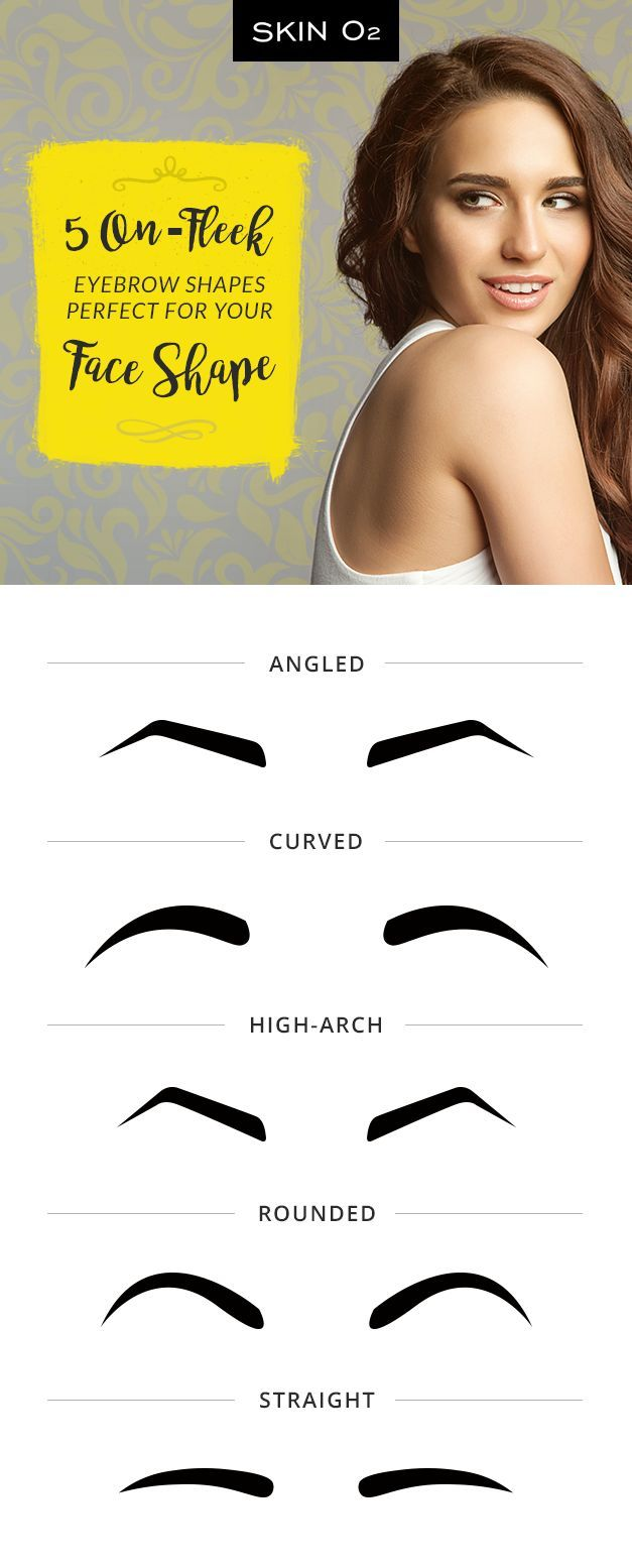 Know the right eyebrow shape for your face! Define and fill your brows to make your arches on fleek any time.