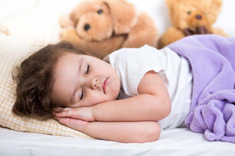 Kid Girl Sleeping With Toys Ad Girl Kid Toys Sleeping
