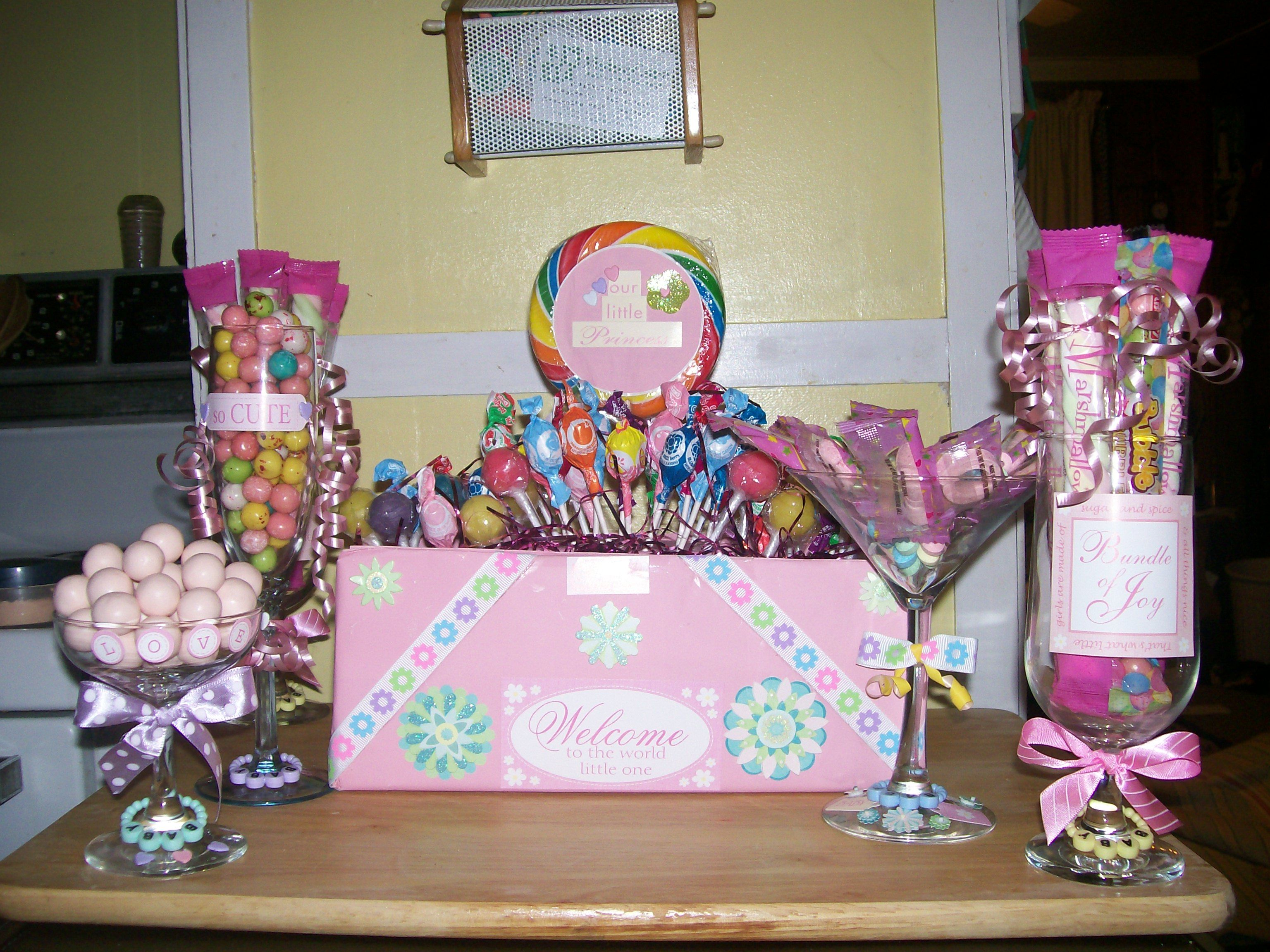 Candyland Baby Shower Decorations