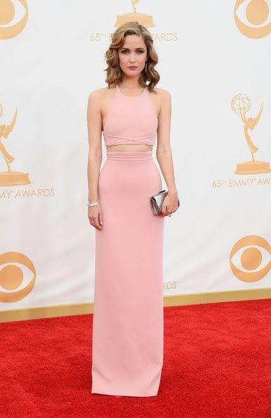 Pactar con el Diablo por...: Emmy Awards 2013. Rose Byrne de Calvin Klein Collection