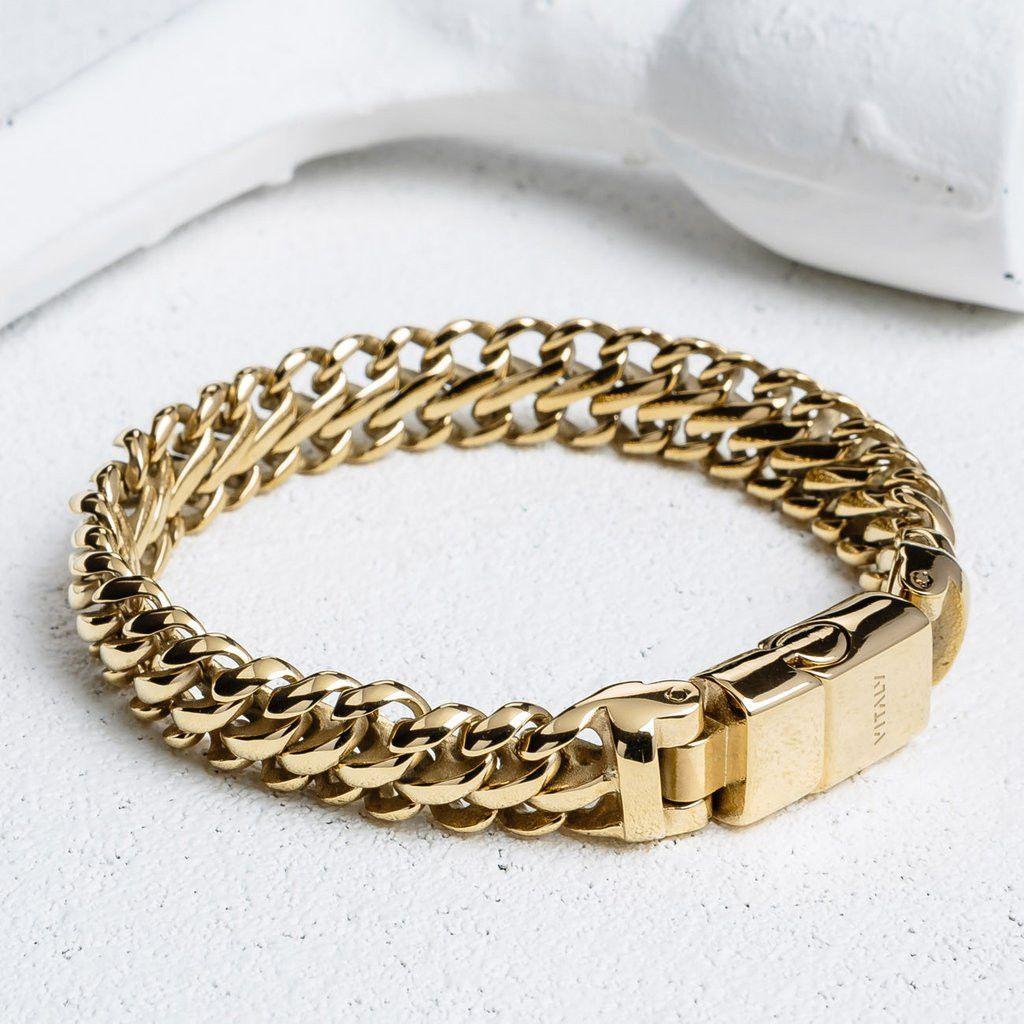 MAILE X GOLD BRACELET