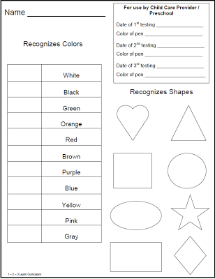7 Free Assessment Resources For Pre K To 1st Grade Teaching Ideas