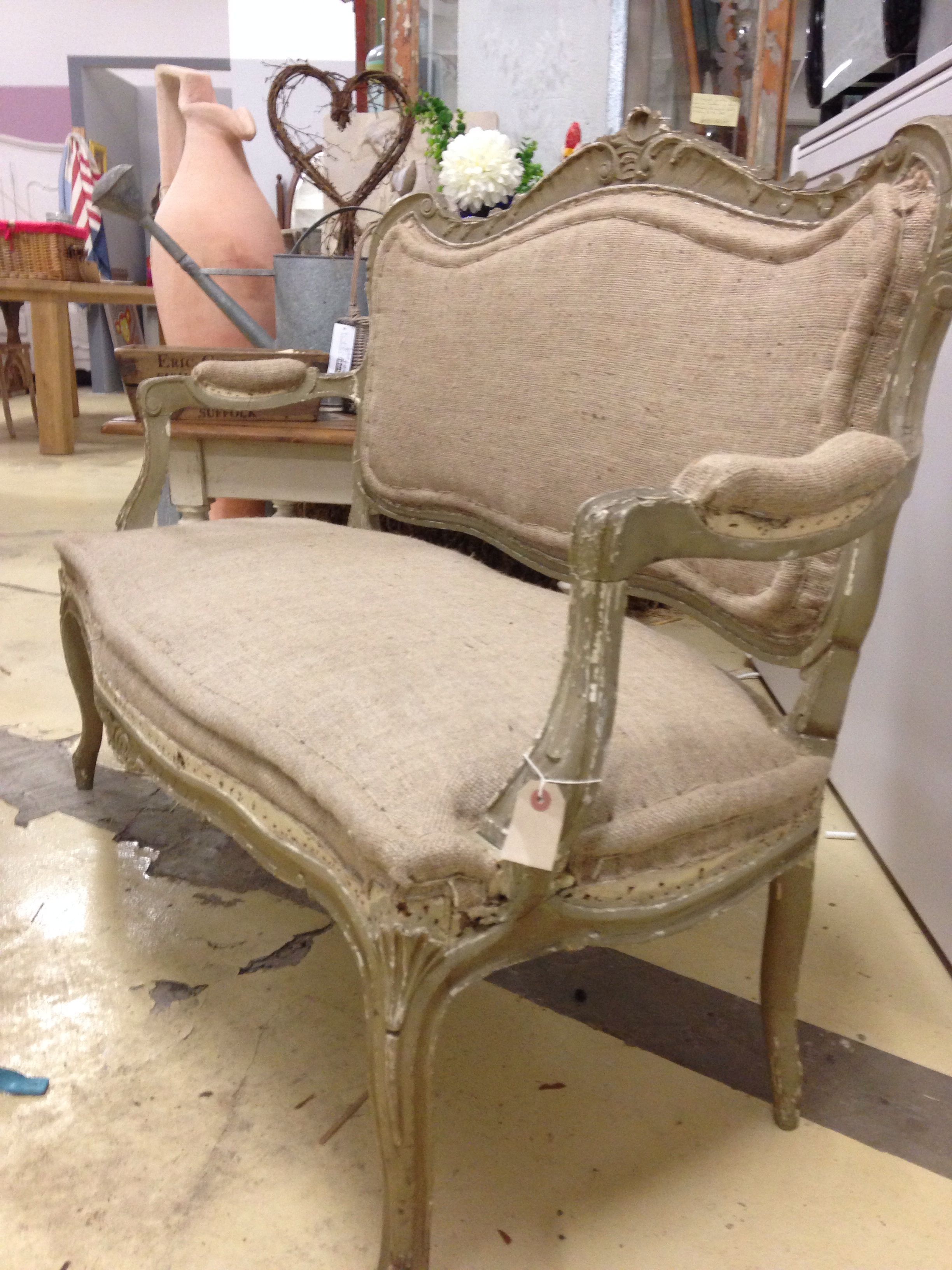 Beautiful 2 Seater Sofa Original Vintage French Style French Sofa Furniture Couch Chair