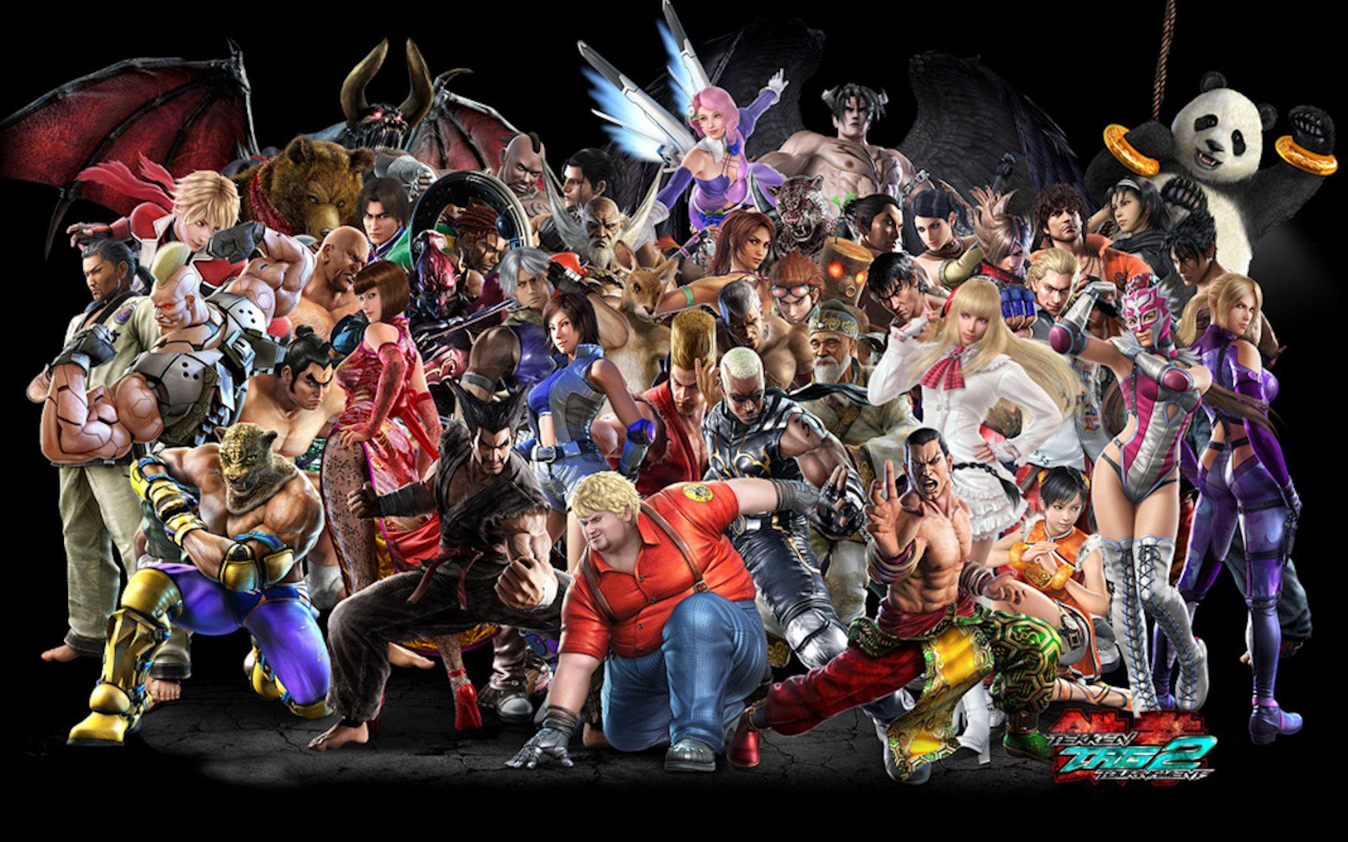 Tekken The Best 3d Fighting Game Series Tekken Tag Tekken Tag Tournament 2 Character Wallpaper