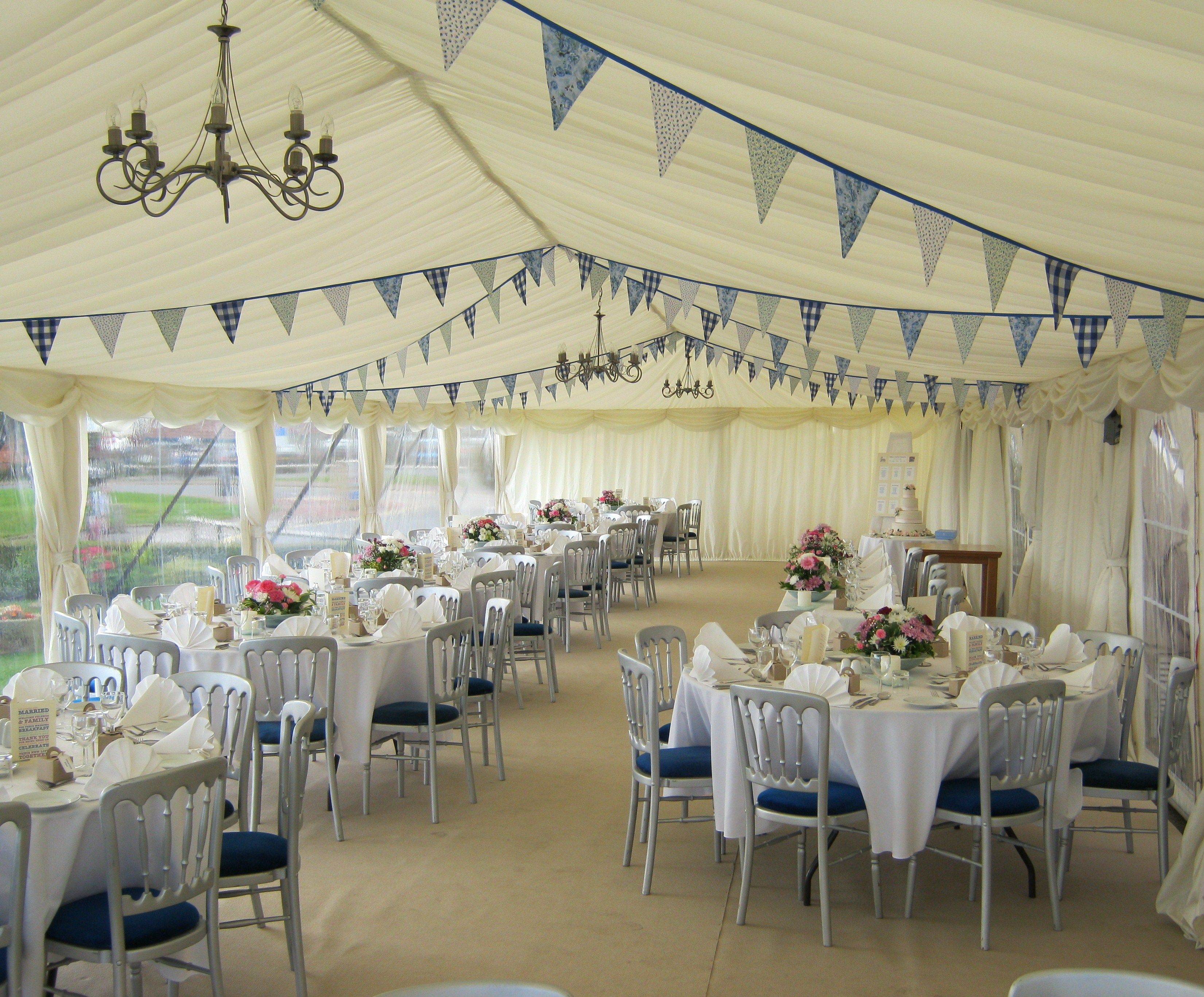 Wedding Marquee at The Victoria Hotel Robin