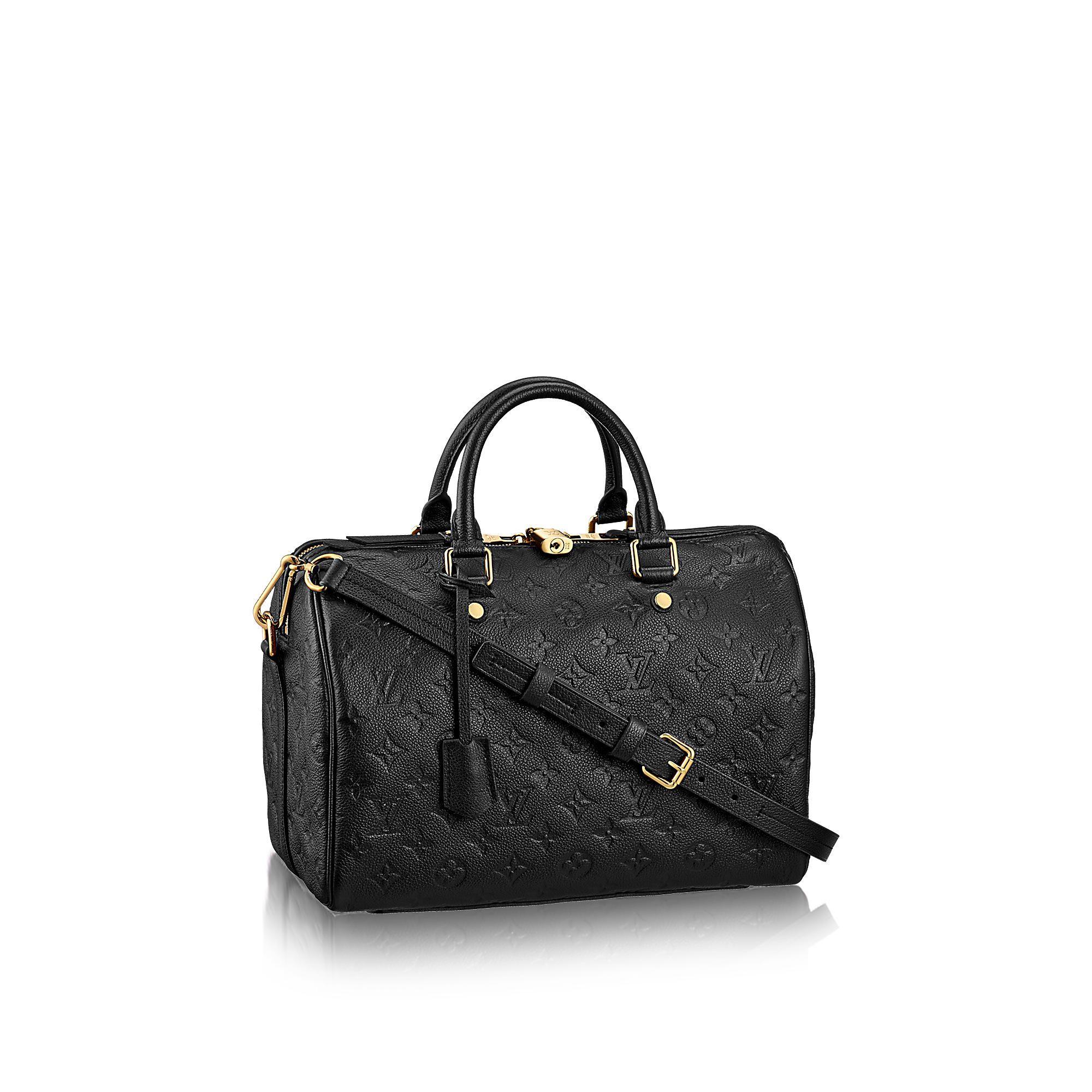 Louis Vuitton Speedy 25 Schwarz