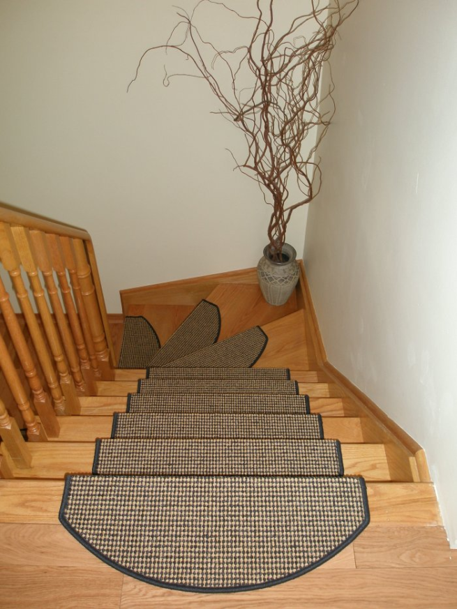 Indoor Stair Mats-Avoid Slippery Stairs: Indoor Stair Treads ...
