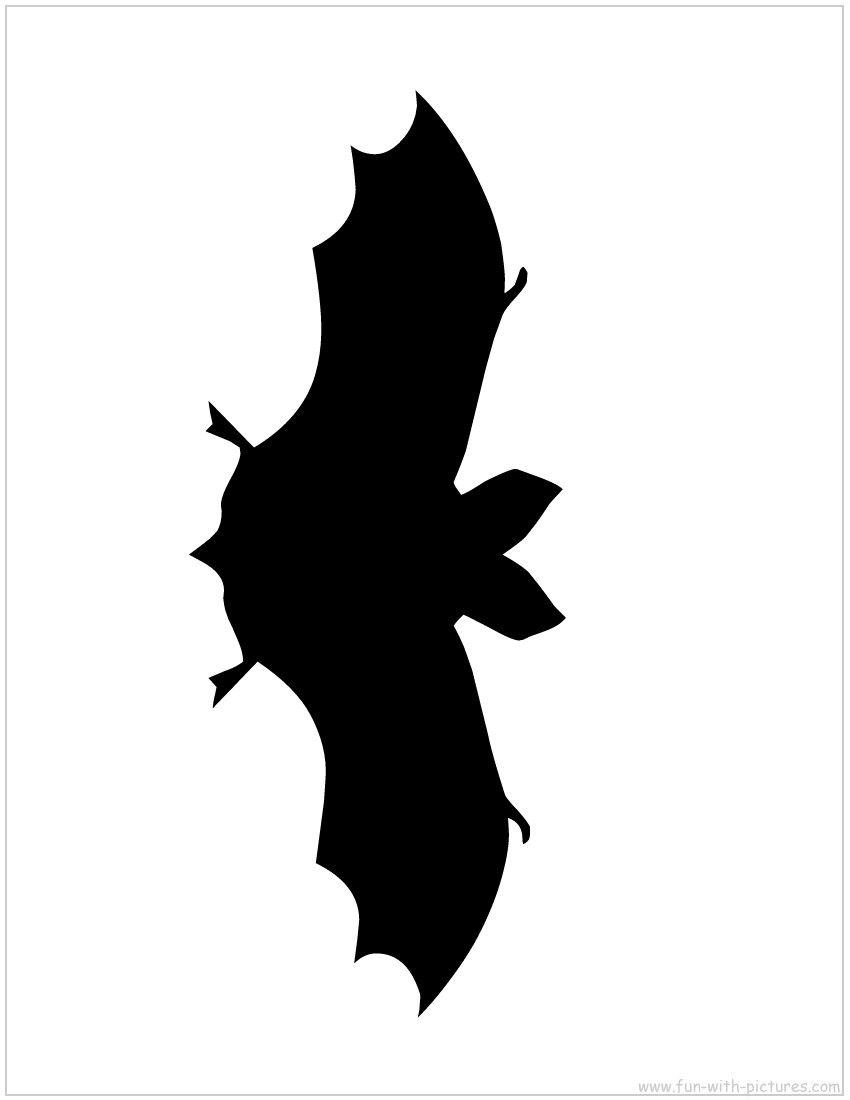 bat silhouette diy stencil for outdoor front door or porch use