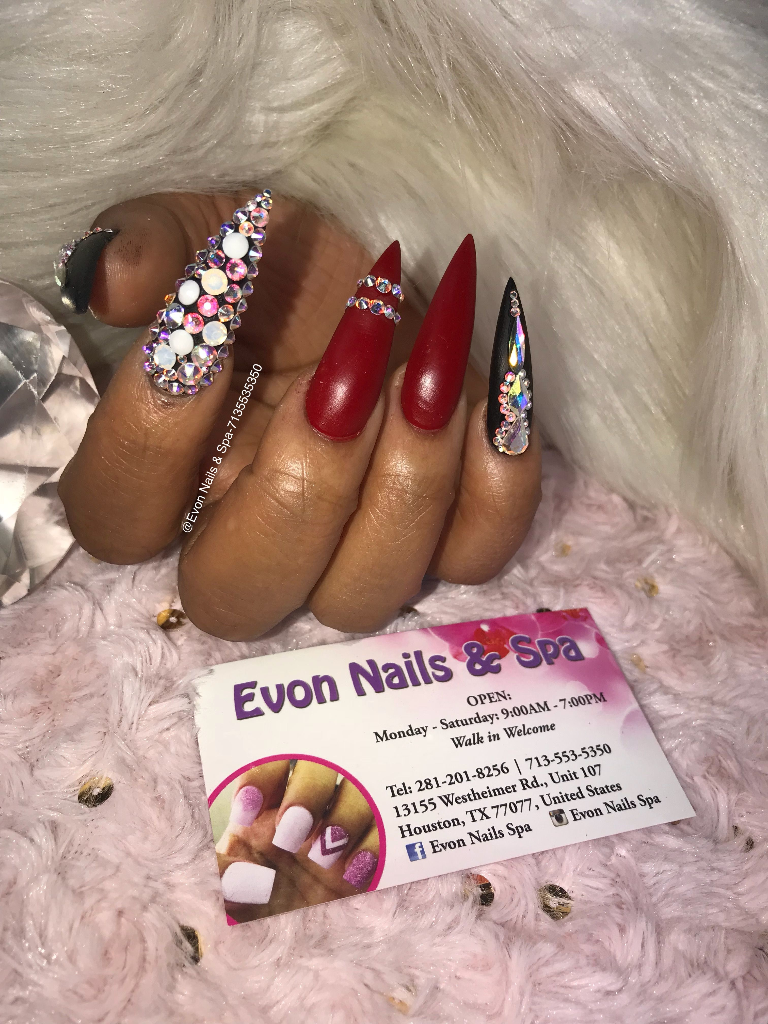 Luxury Nails By Evon Pattern - Nail Polish Ideas ...