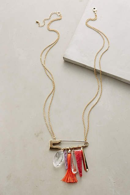 Pinned Pendant Necklace - anthropologie.com