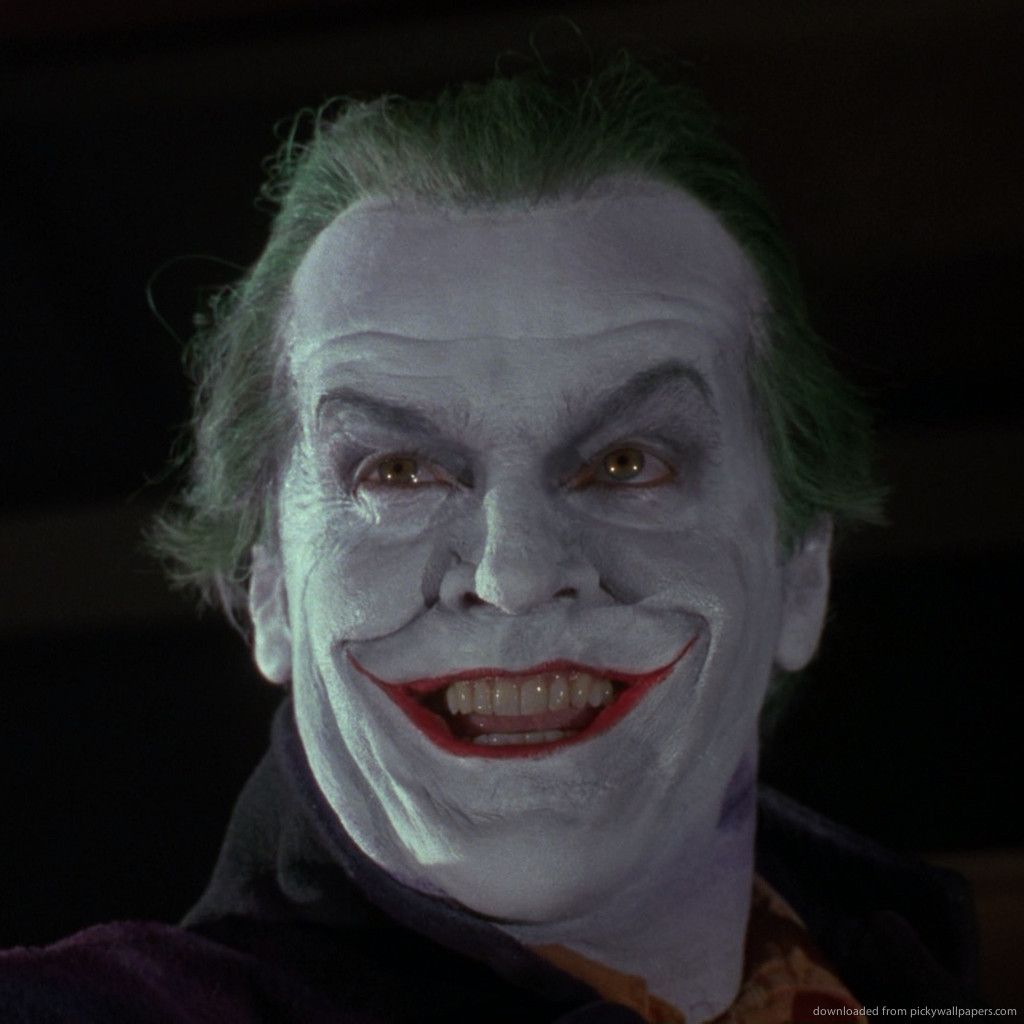 Jack Nicholson as a Joker wallpaper | Batman joker, Joker, Tim ...
