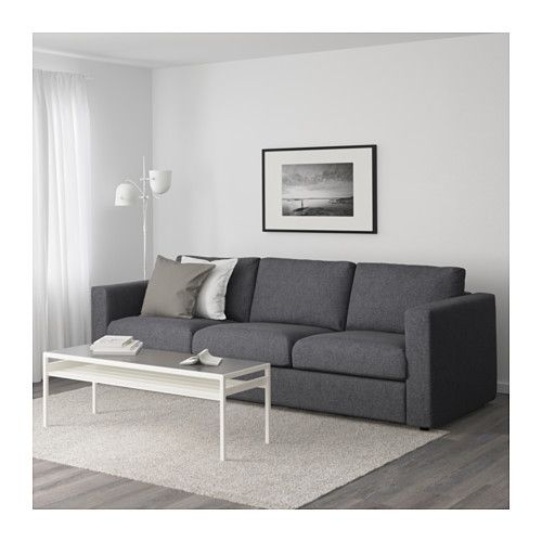 vimle 3er sofa orrsta goldgelb hotel pinterest 3er sofa wohnzimmer und m bel. Black Bedroom Furniture Sets. Home Design Ideas