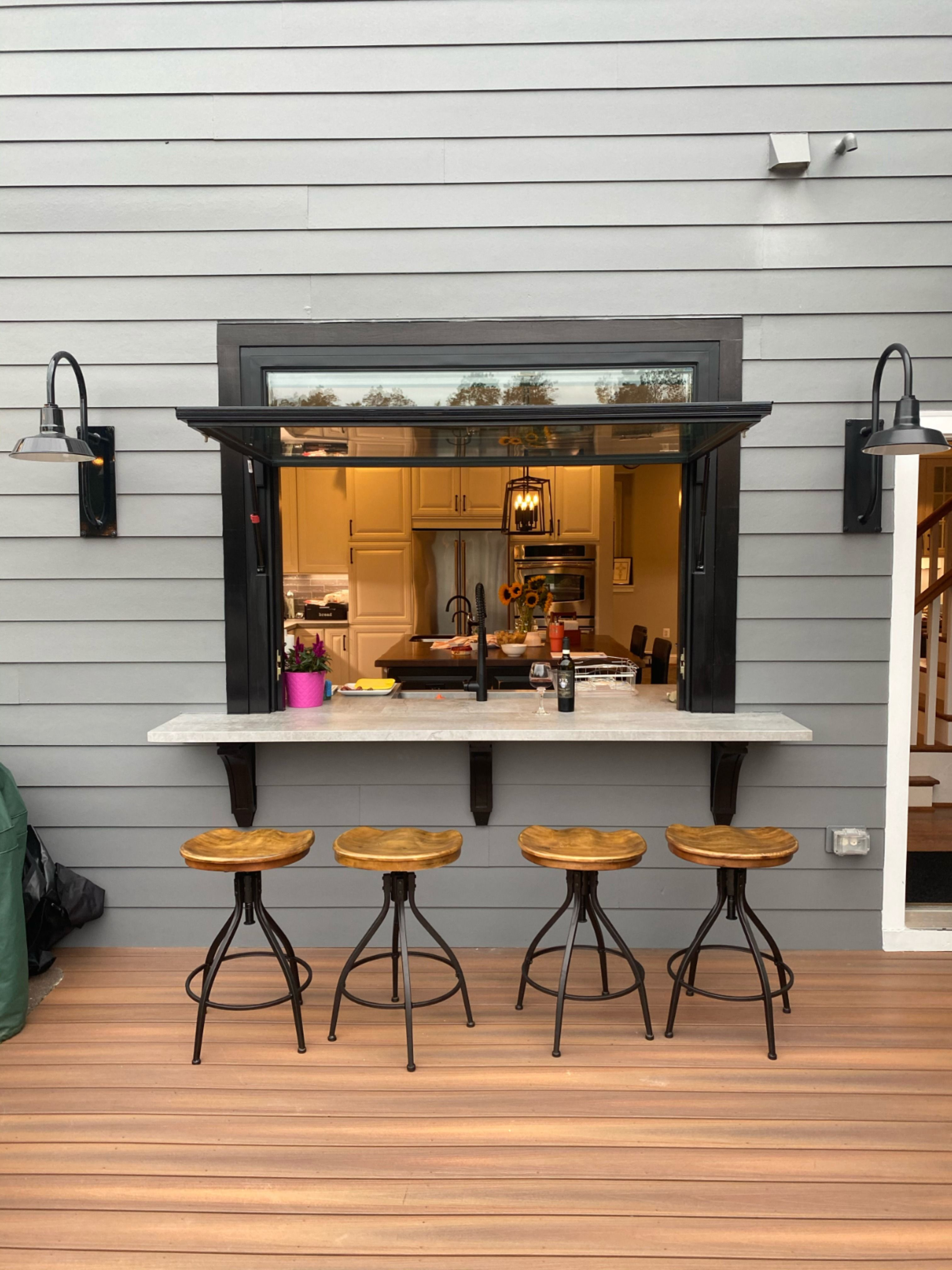 Kitchen Bar Gas Strut Window Opens Up Your World