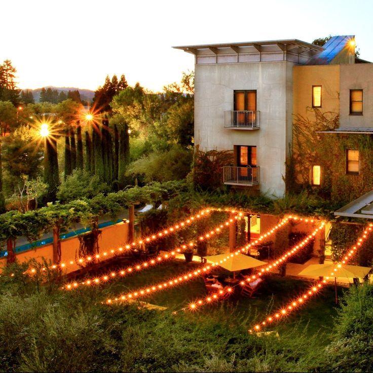 Cheers To The Beautiful Evenings At Hotel Healdsburg California