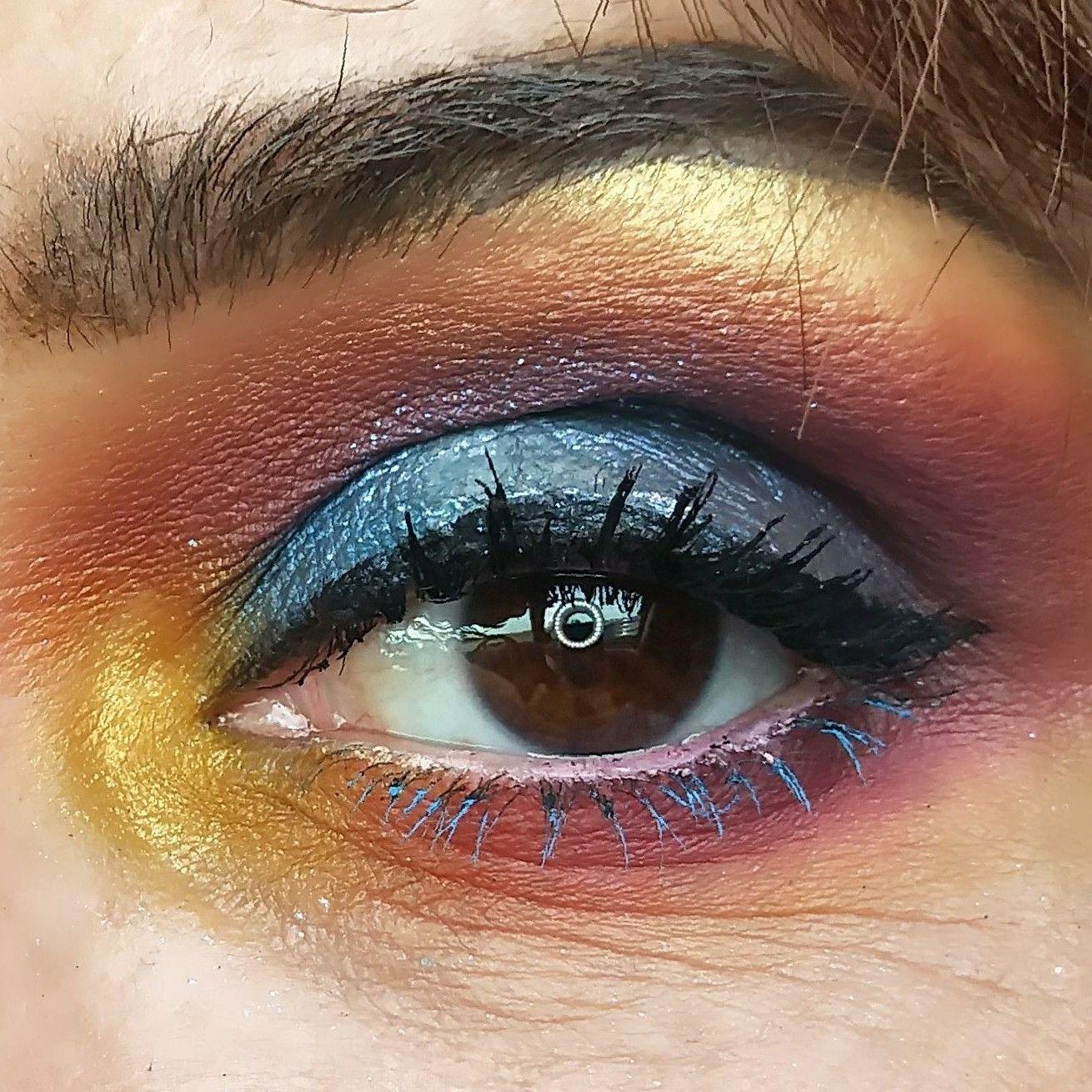 Hawaiian Sunset Eye Makeup Look My Makeup Makeup Makeup Looks