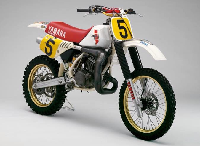 1985 Yamaha Yzm 500 Ow64 Yamaha Racing Vintage Motocross Yamaha Motocross