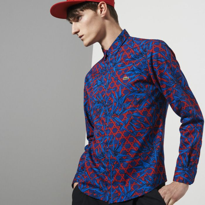 Lacoste Live Printed Shirt