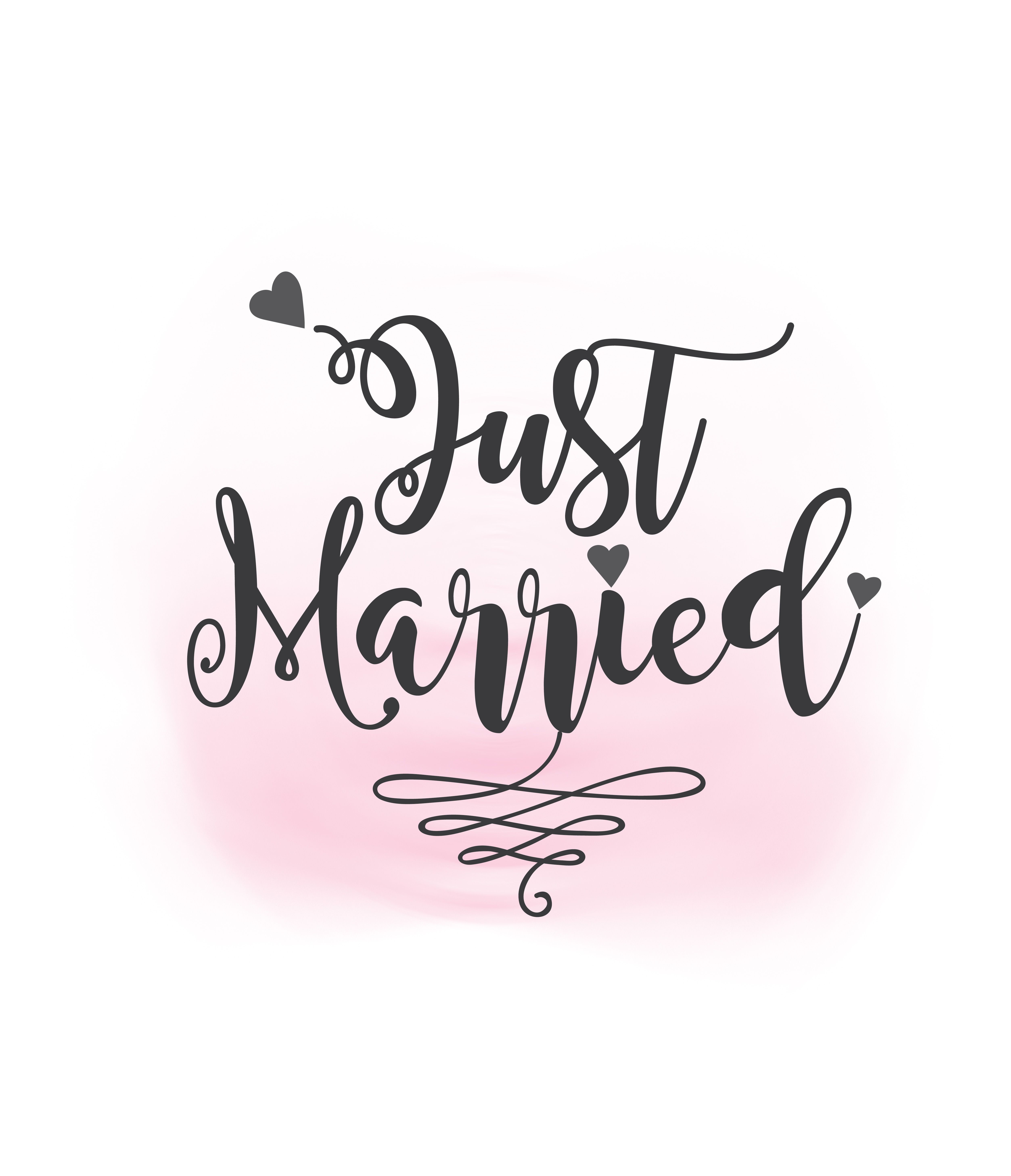 Just Married Svg Clipart Wedding Annuncment Just Married Vector Wedding Sign Printable Clipart Ai Eps Svg Png Jpeg Cr Clip Art Just Married Printable Signs