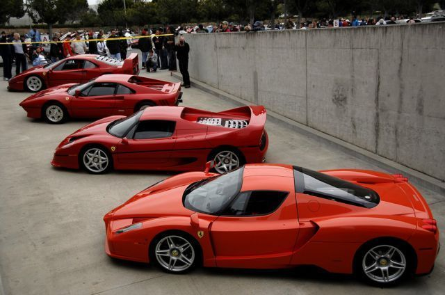 Ferrari Italian Exotic Car Manufacturer Uses A Logo Of A Rearing