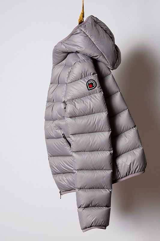 86d2b987d02 piumino mid grey, light down jacket Goose Feel | DOWN COLLECTION en ...