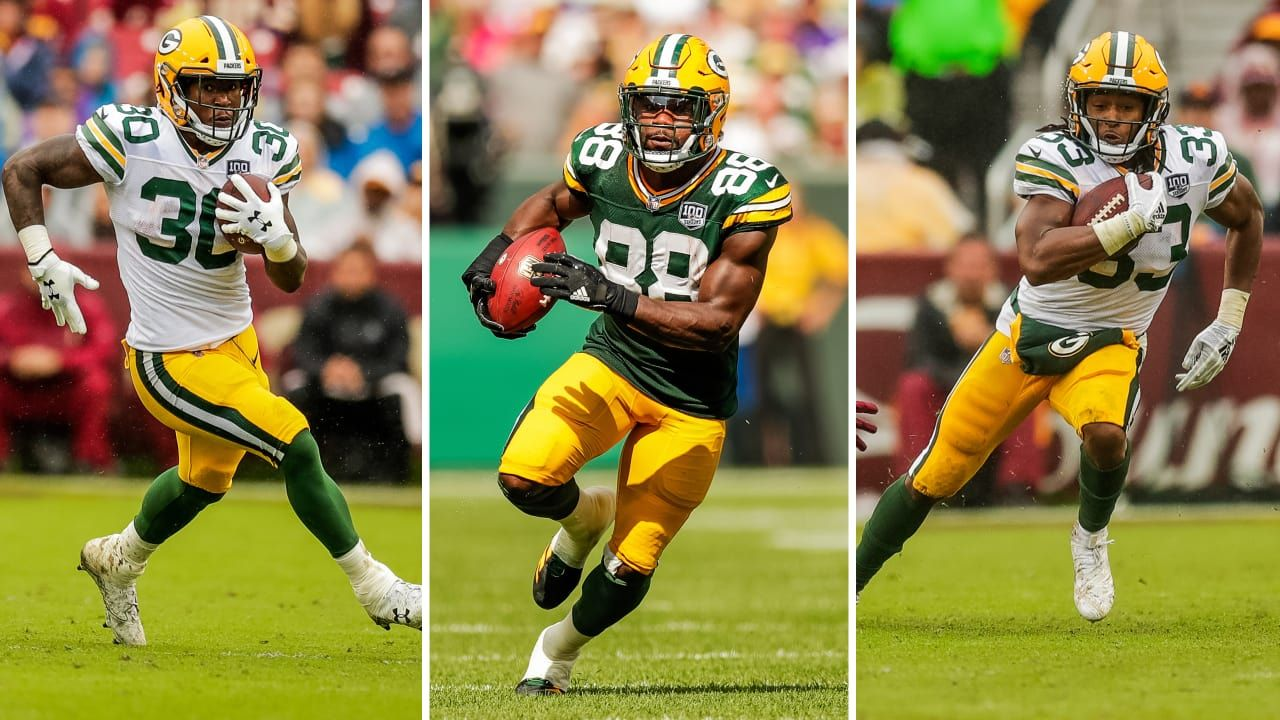 Backfield Built To Keep Opponents Guessing Packers Running Back Running