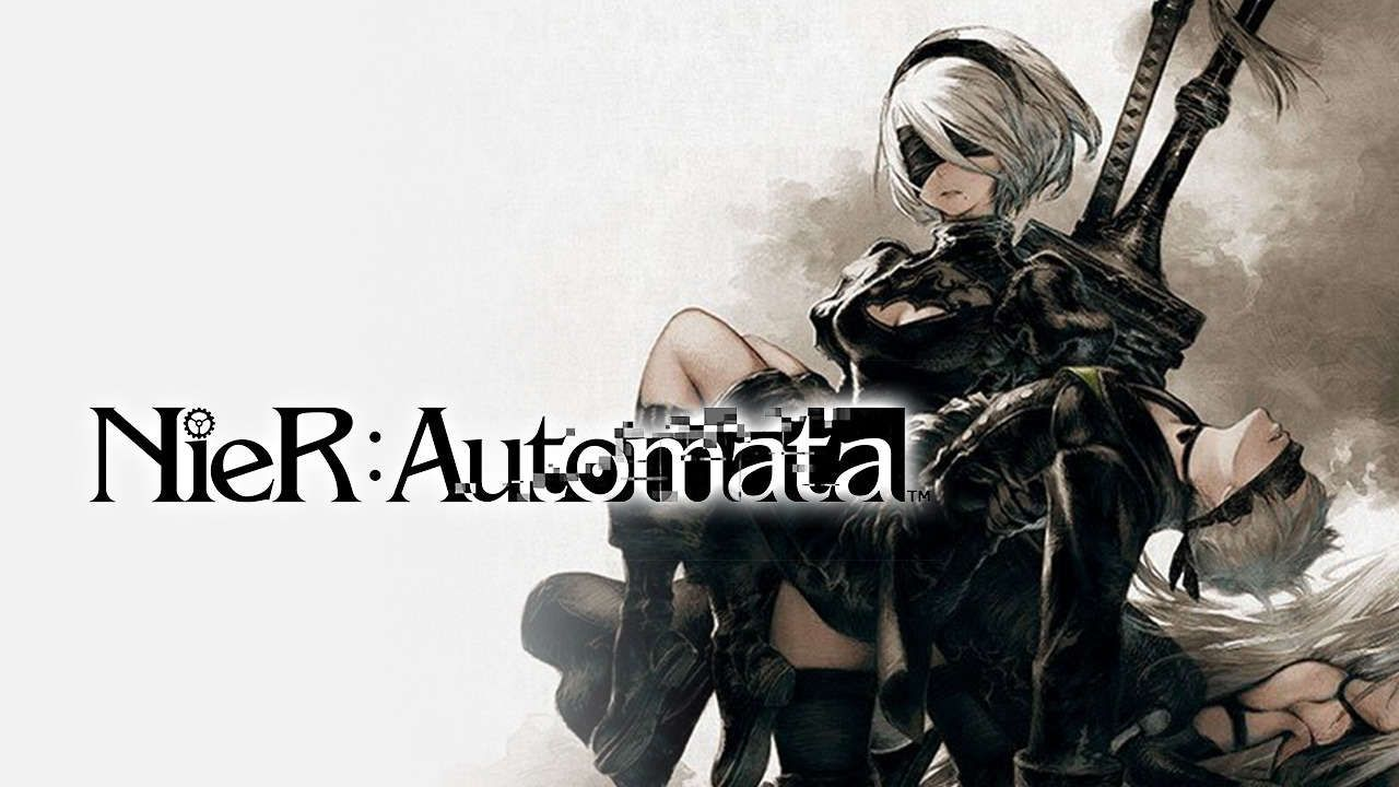 2b And 9s Logo Would Attempt This Pose In A Cosplay Shoot And