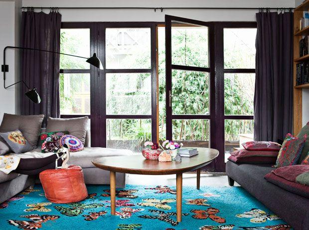 beautiful rug via decoratualma