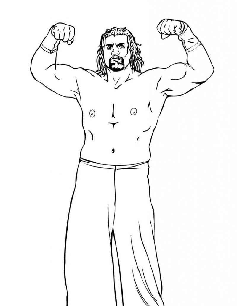 Wwe Coloring Pages Printable In 2020 Wwe Coloring Pages Coloring Pages Coloring Pages For Kids