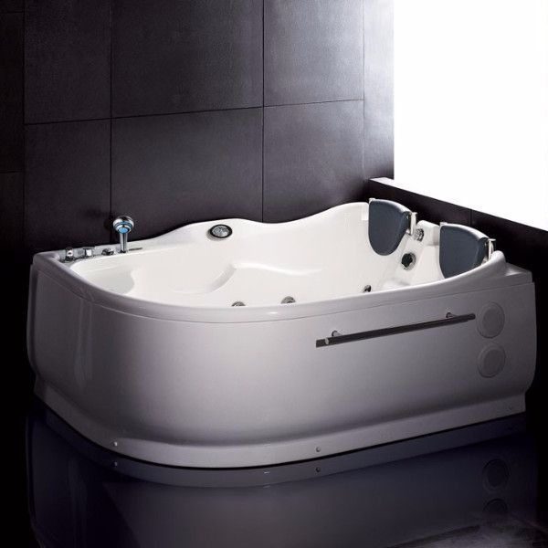 corner jet bath tub. We are very excited to offer you this popular corner whirlpool bathtub for  two persons