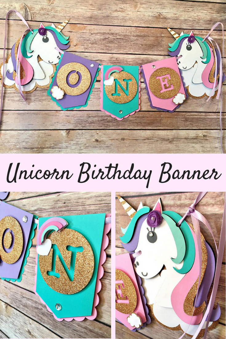 Unicorn Banner for Unicorn Theme Birthday Party | Unicorn Age Banner | Unicorn Birthday Banner | Unicorn High Chair Banner #ad #unicornparty #unicorntribe #unicorn #banners #birthday #birthdayparty #partyideas #banners #partydecor #partytime #partyplanning #etsyfinds #etsyshop