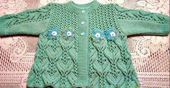 кофточка для новорожденного спицами схемы вязания кофты реглан