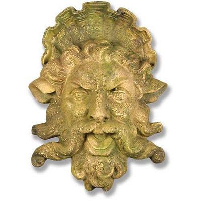 Garden Plaques and Signs 75592: Neptune Greek God Garden Wall Art ...