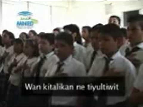Himno Nacional Cantado en Pipil Nahuat