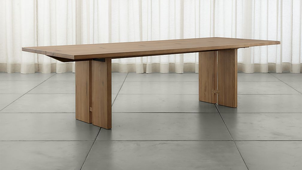 Our Monarch 108 Solid Wood Dining Table Is Handcrafted Using