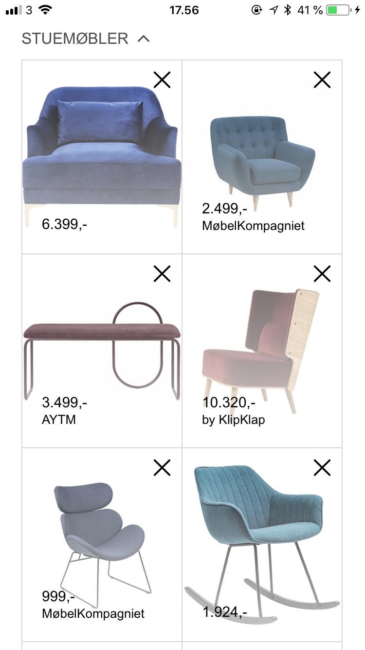 Flotte stole med valour perfekt til din stue. Få inspiration
