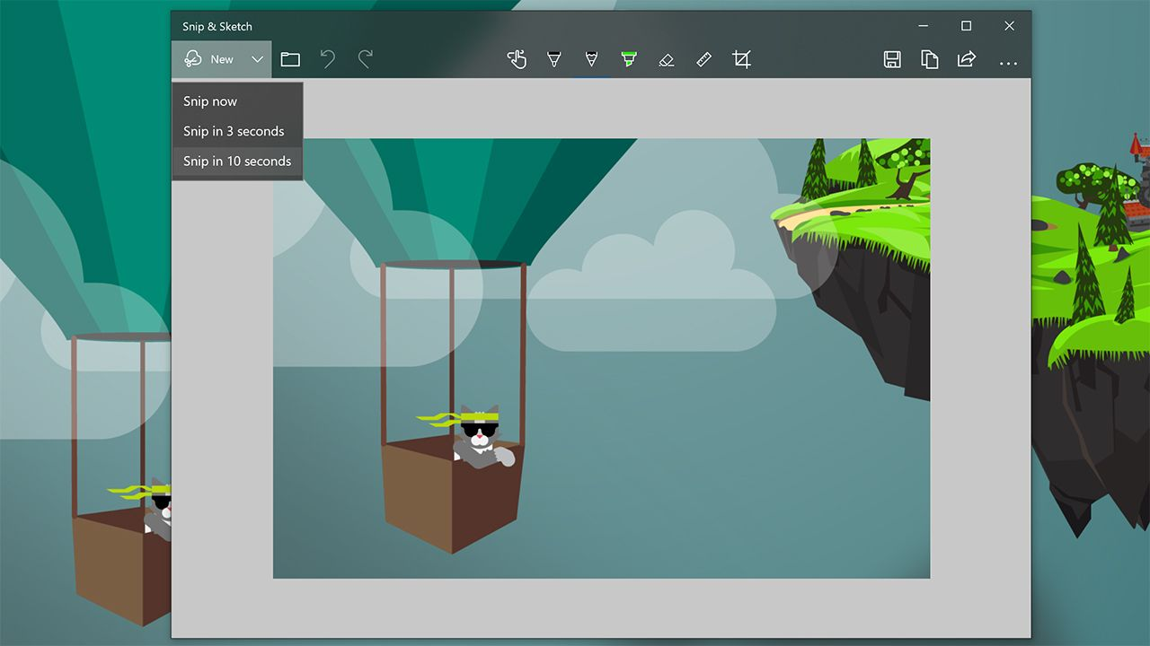 Microsoft Updates Snip And Sketch Windows 10 Screenshot Tool