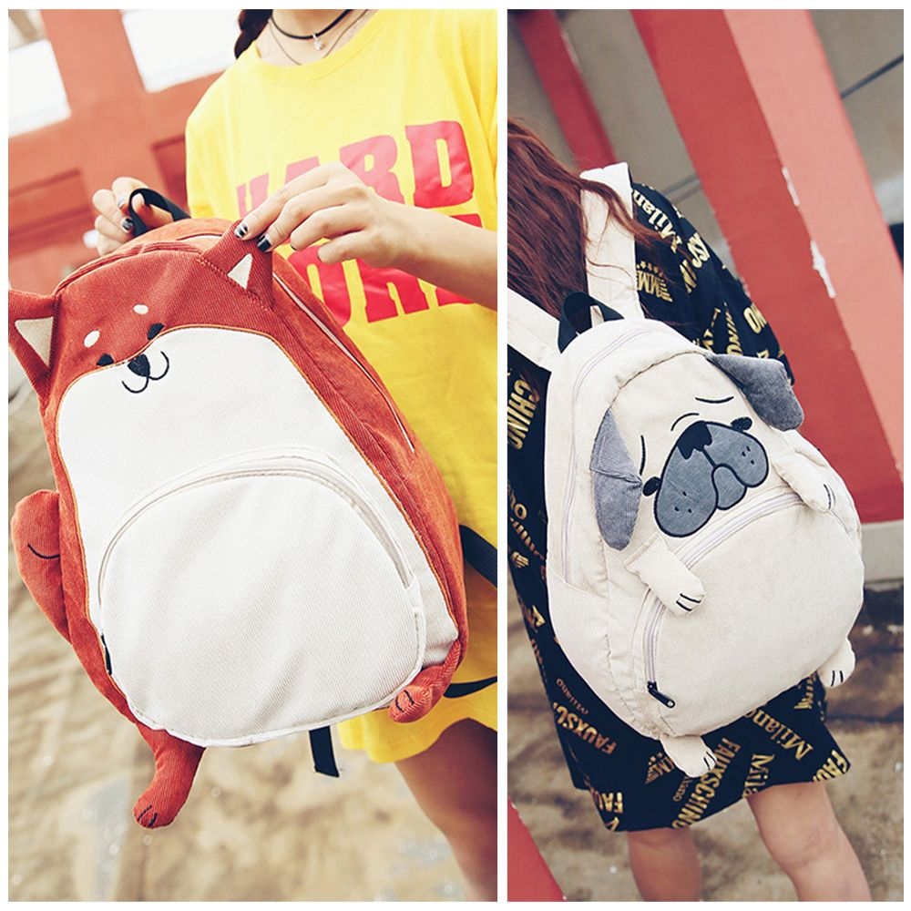 63238aae5db0 Girly Kawaii Cartoon Plush Schoolbags Cute Dog Backpack Gg207 catches up  with the Girly Girl style.Get yourself ready to look fashion.Don t miss it.